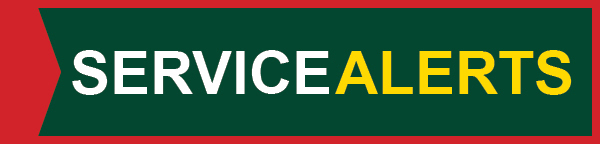 Service Alerts - Click Here