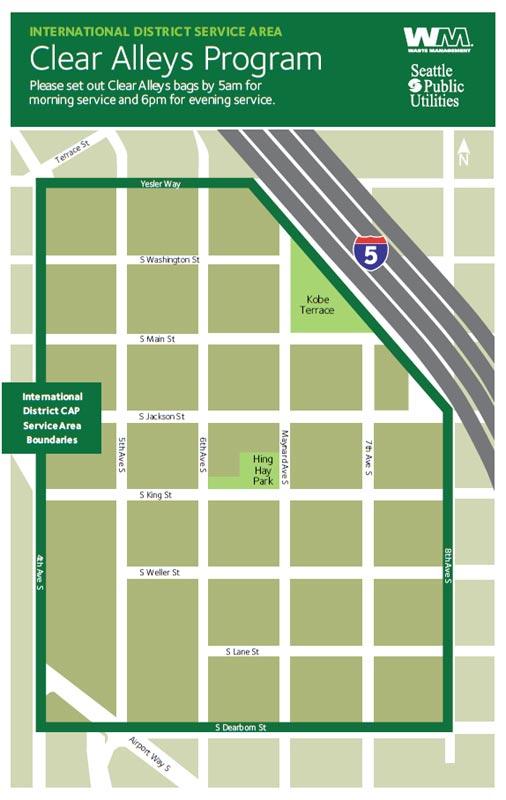 Seattle CAP International District - Waste Management Northwest on